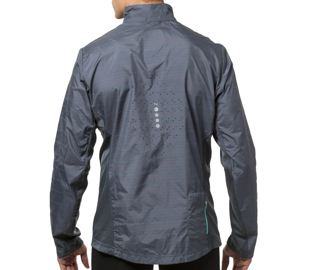 Puma - PR Pure NightCat men\u0027s running jacket (grey)