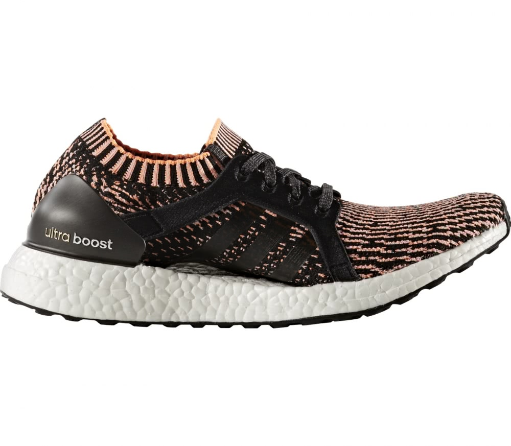Adidas - Ultra Boost X women's running shoes (black/orange)