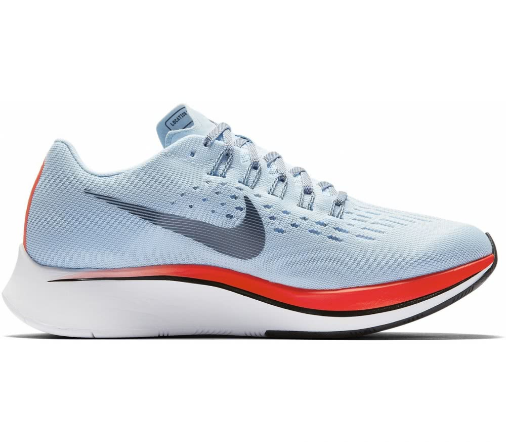 Nike - Zoom Fly women's running shoes (light blue/orange)