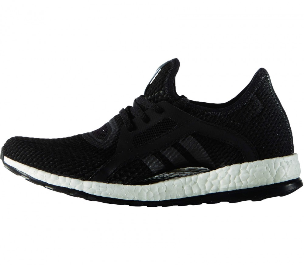 Adidas - Pureboost X women's running shoes (black/white)