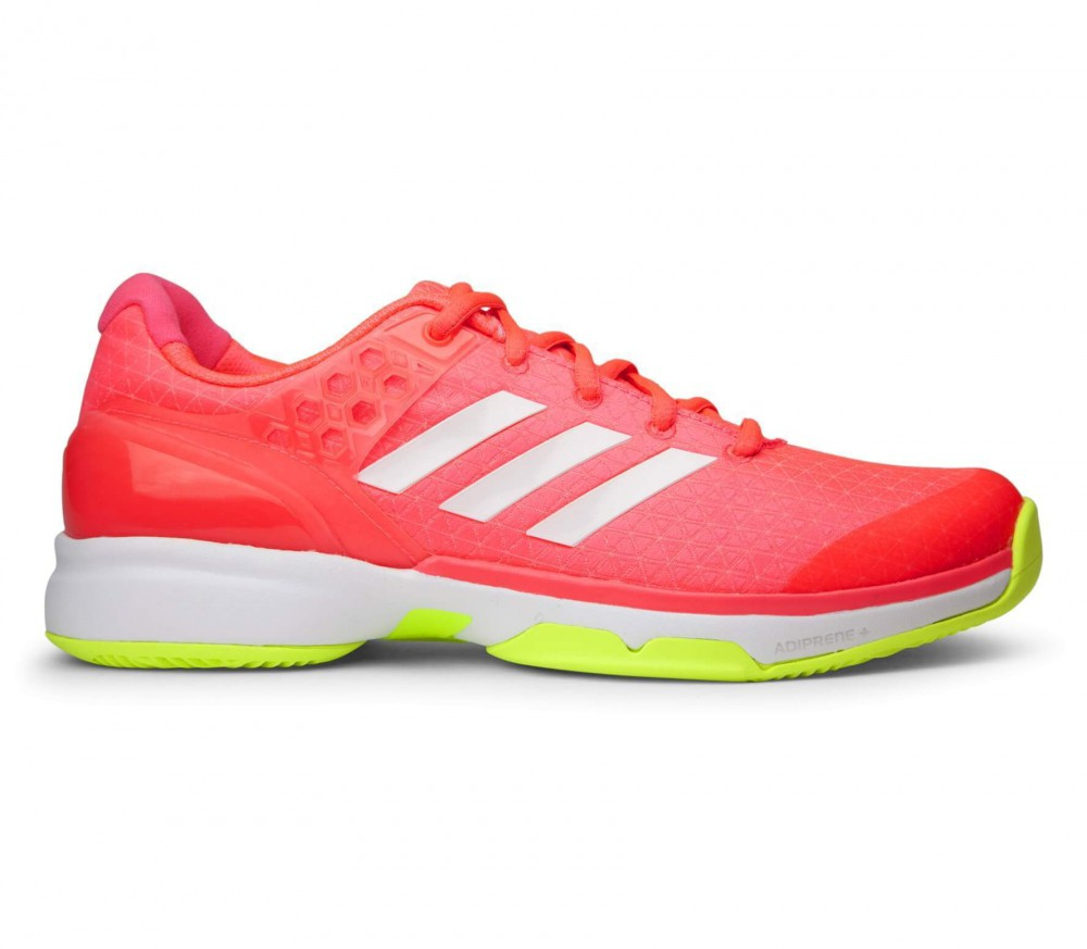 Adidas - Adizero Ubersonic 2 women's tennis shoes (red/green)
