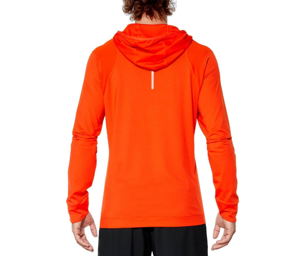 asics sweatshirt mens Orange