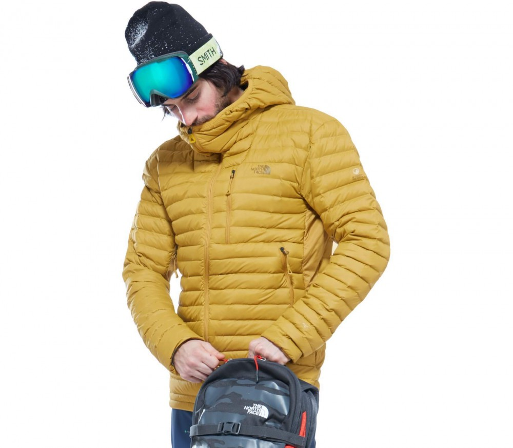 The North Face Daunenjacke >> The North Face - Premonition men's down jacket (yellow) - buy it at the Keller Sports online shop