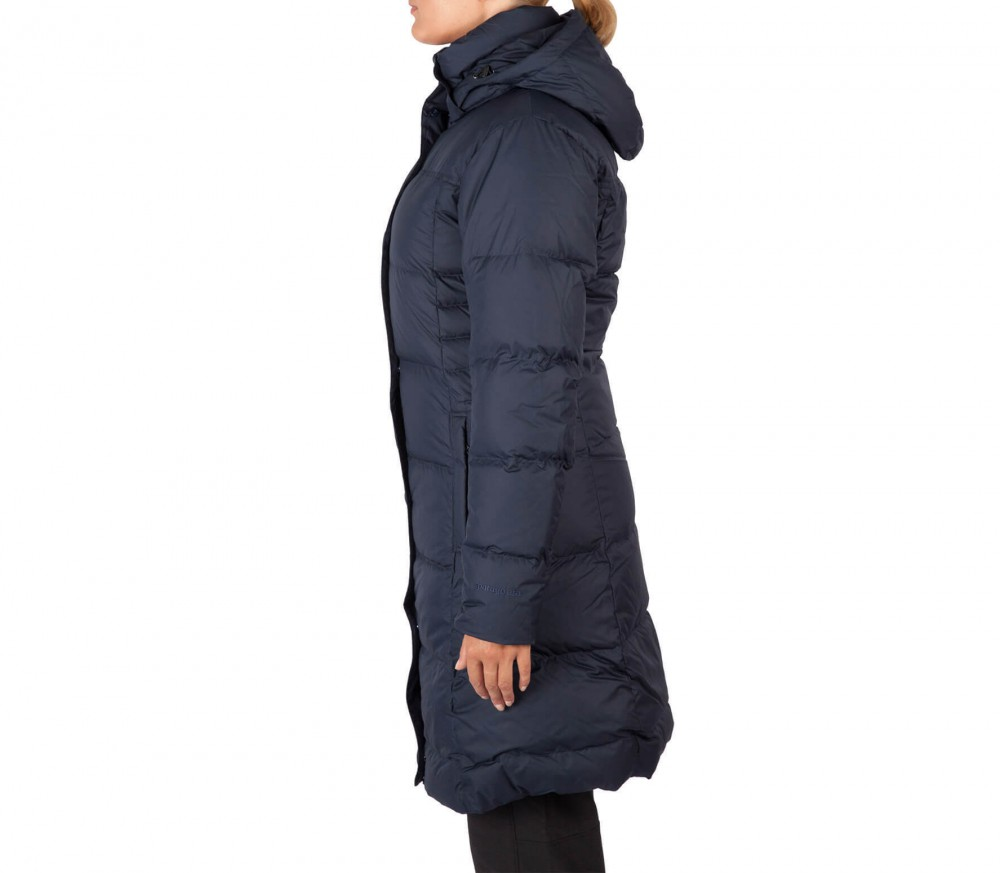 Patagonia women's down with it parka glass blue
