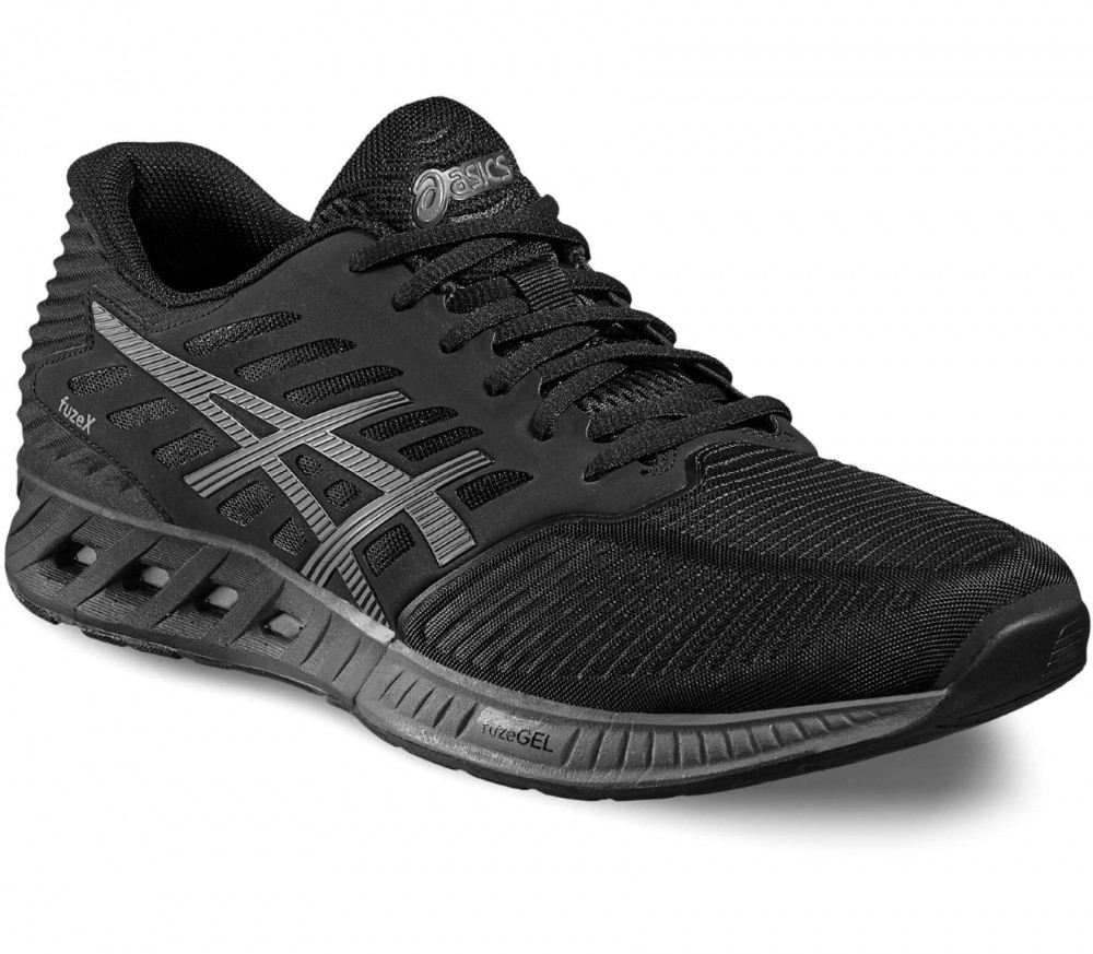 Asics - FuzeX men's running shoes (black/grey)