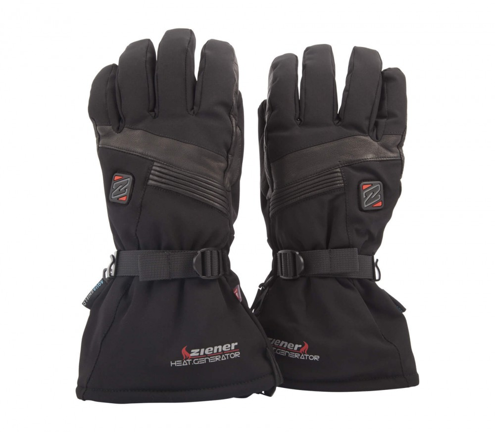 Ziener - Germo AS® PR Hot men's heated gloves (black)