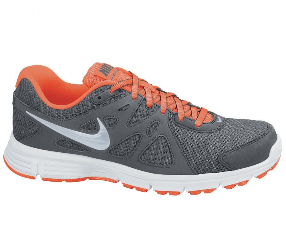 Nike - Revolution 2 MSL men's running shoes (grey/orange)