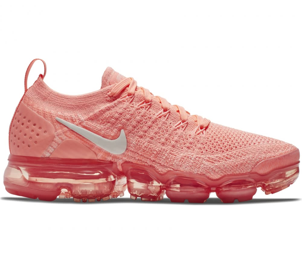 Nike - Air VaporMax Flyknit 2 women's running shoes (coral/pink)