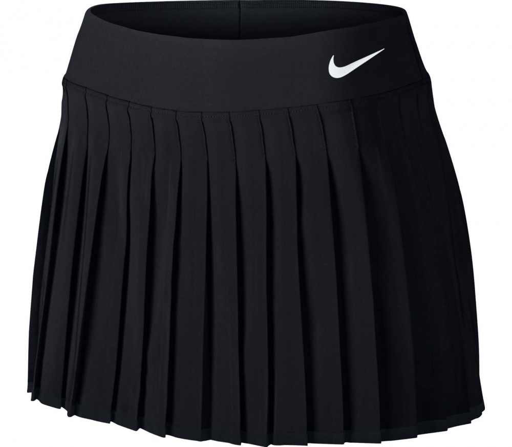 Nike - Victory women's tennis skirt (black/white)