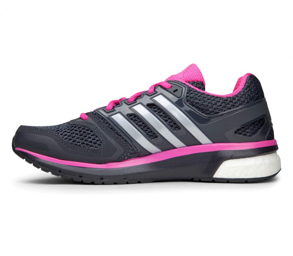 Adidas - Questar women's running shoes (black/pink)
