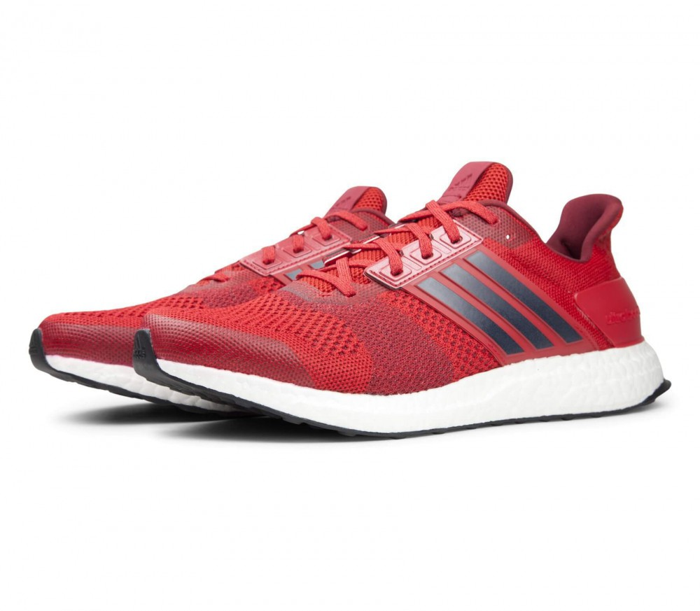Adidas - Ultra Boost ST men's running shoes (red/black)