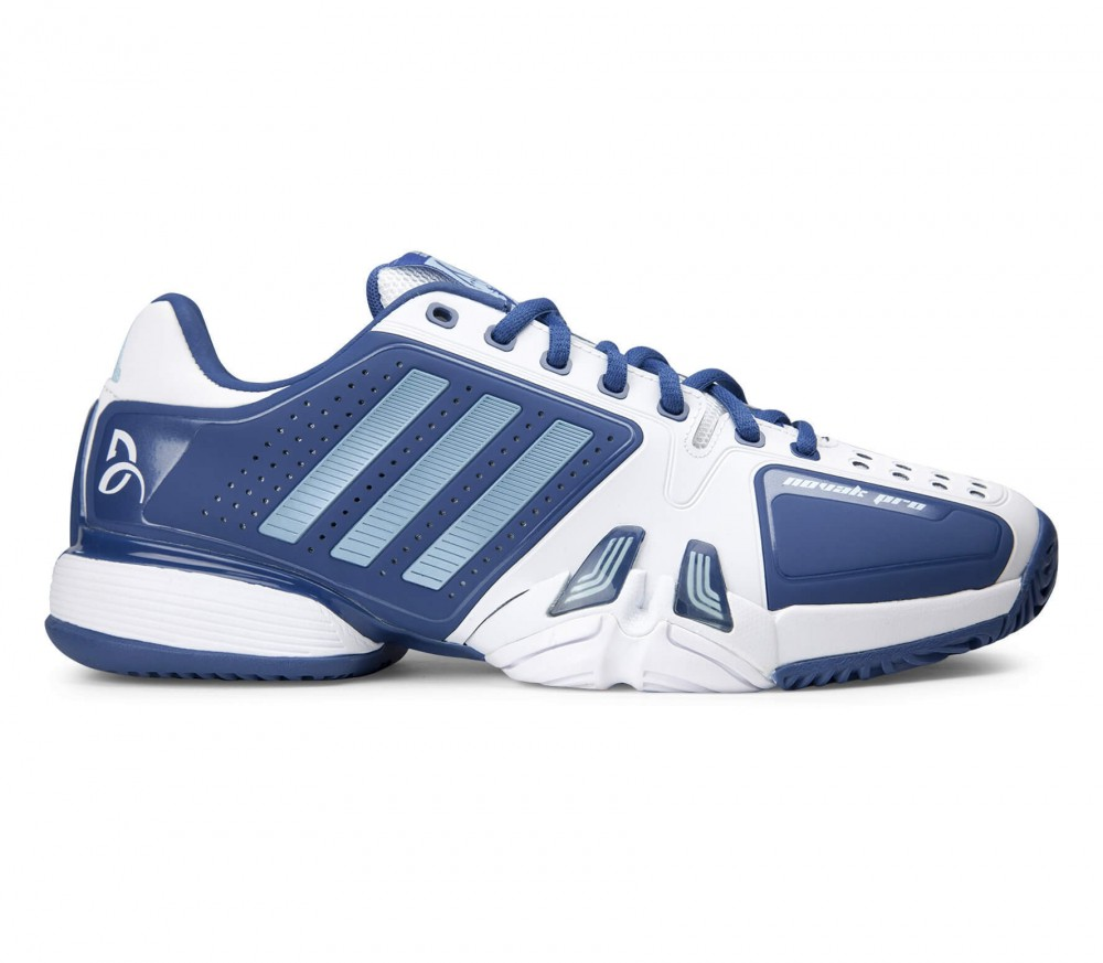 Adidas - Novak Djokovic Pro men's tennis shoes (blue/white)