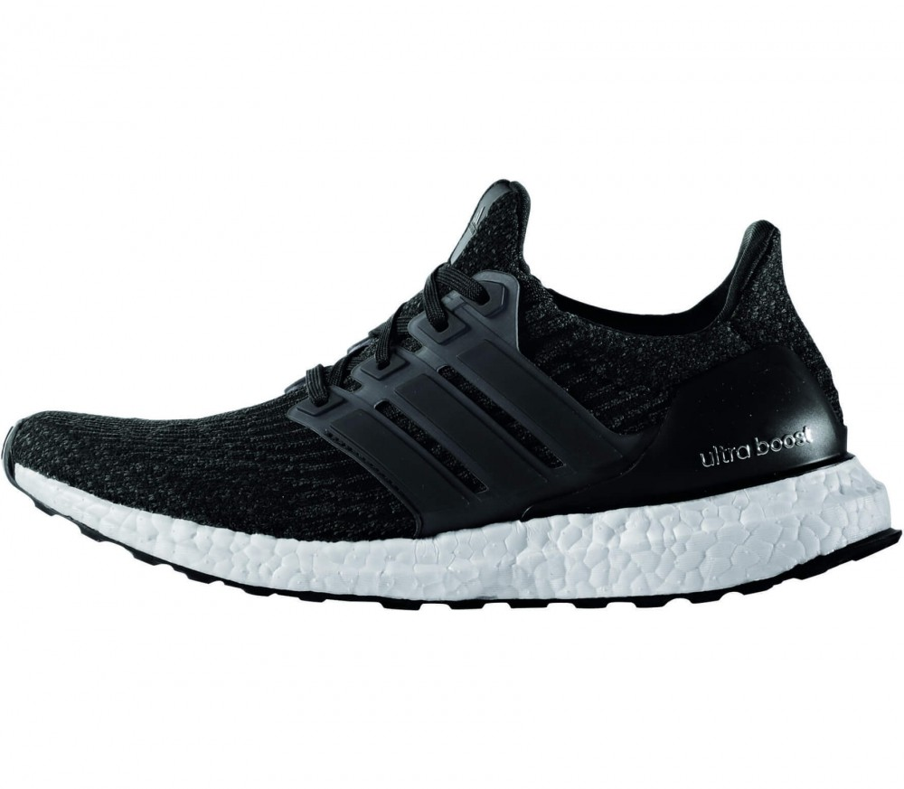 Adidas - Ultra Boost women's running shoes (black/white)