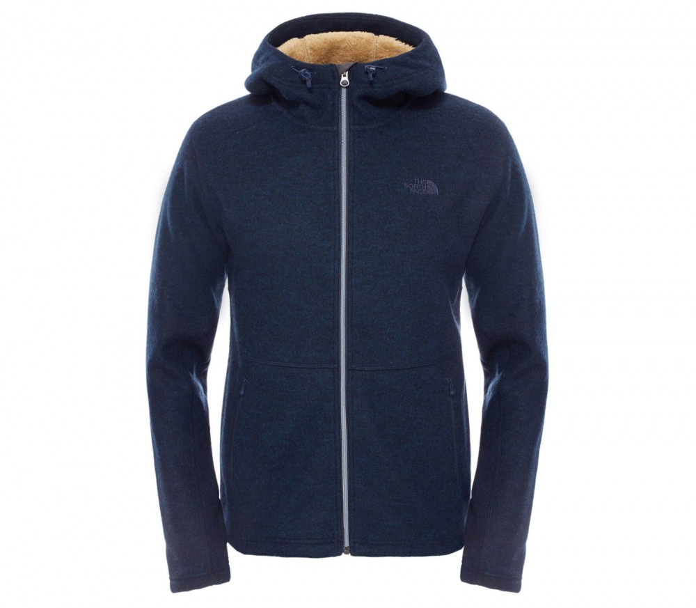 the north face zermatt full zip hoodie men 39 s fleece jacket dark blue buy it at the keller. Black Bedroom Furniture Sets. Home Design Ideas