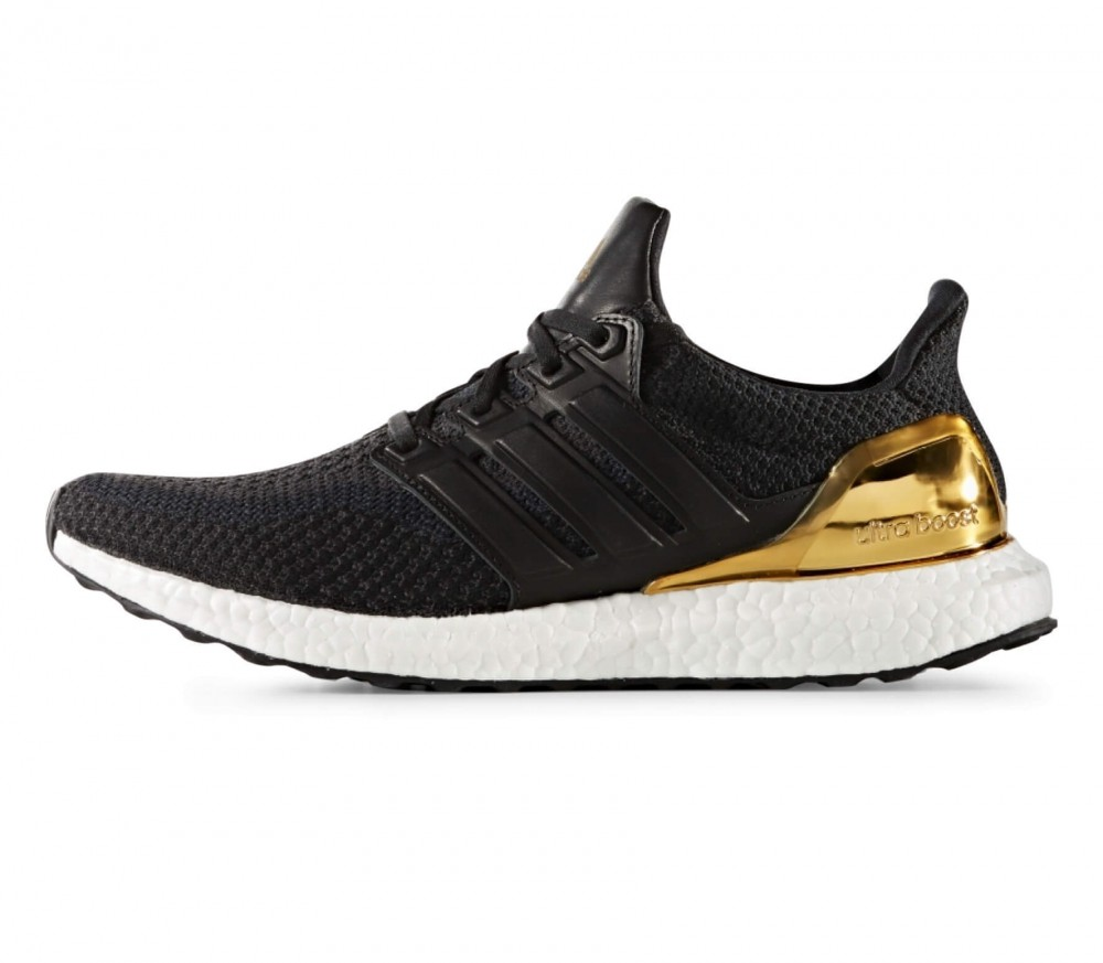 adidas ultra boost ltd men 39 s running shoes black gold. Black Bedroom Furniture Sets. Home Design Ideas