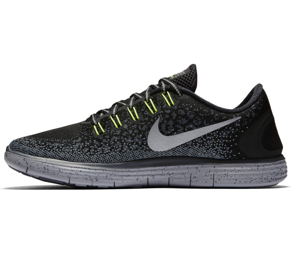 Nike - Free RN Distance Shield men's running shoes (black/grey)