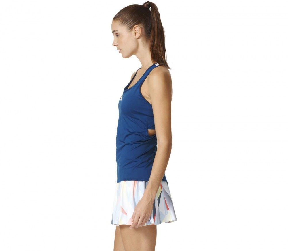 Adidas - Pro women's tennis tank top (dark blue/white)