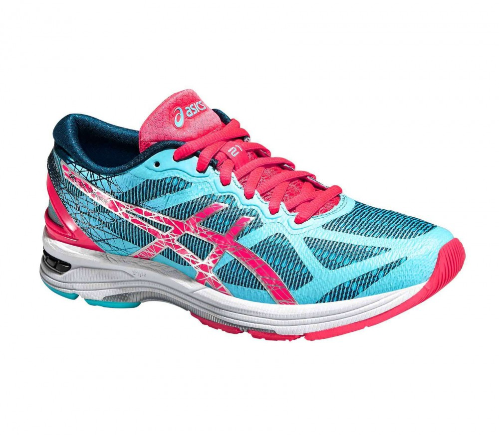 ASICS - Gel-DS Trainer 21 NC women's running shoes (pink/turquoise)