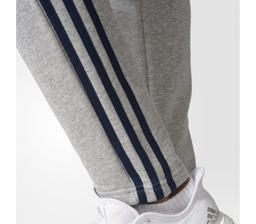 Adidas - Essentials 3 Stripes Tapered men's training pants (grey/black)