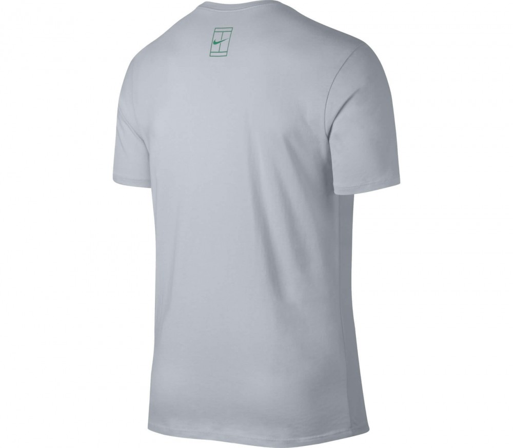 Nike - Rafa Nadal men's tennis top (grey/black)