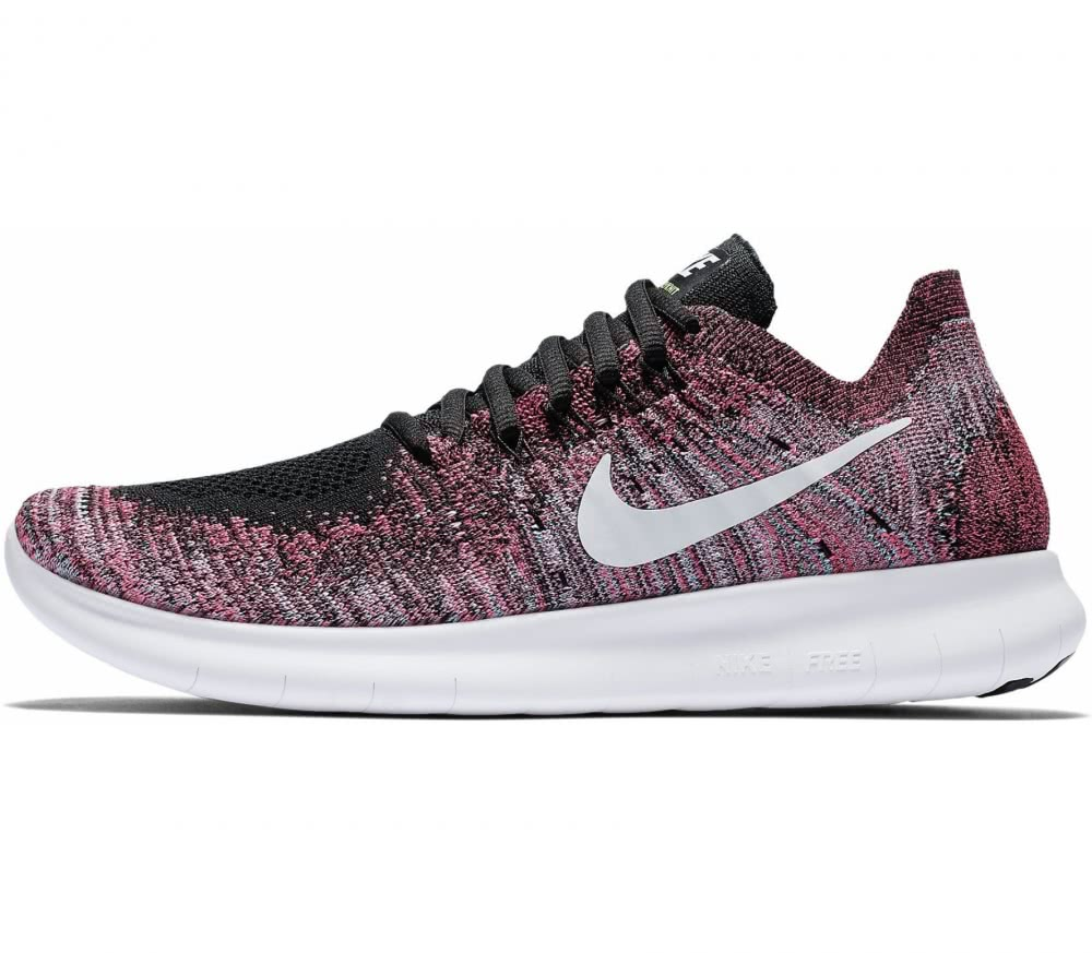 nike free run flyknit 2017 women 39 s running shoes pink. Black Bedroom Furniture Sets. Home Design Ideas