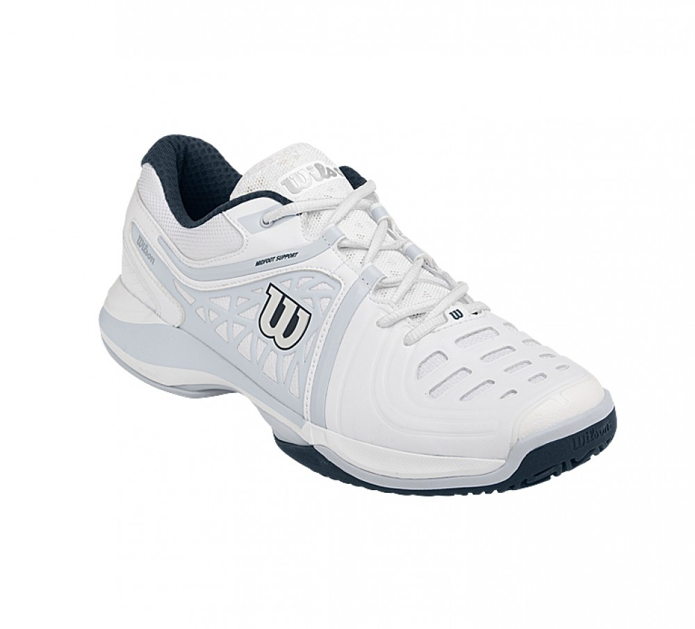 Wilson - Nvision Elite All Court men's tennis shoes (grey/white)