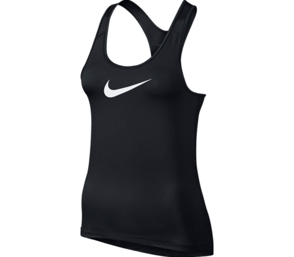 Nike - Pro Cool women's training tank top top (black/white)