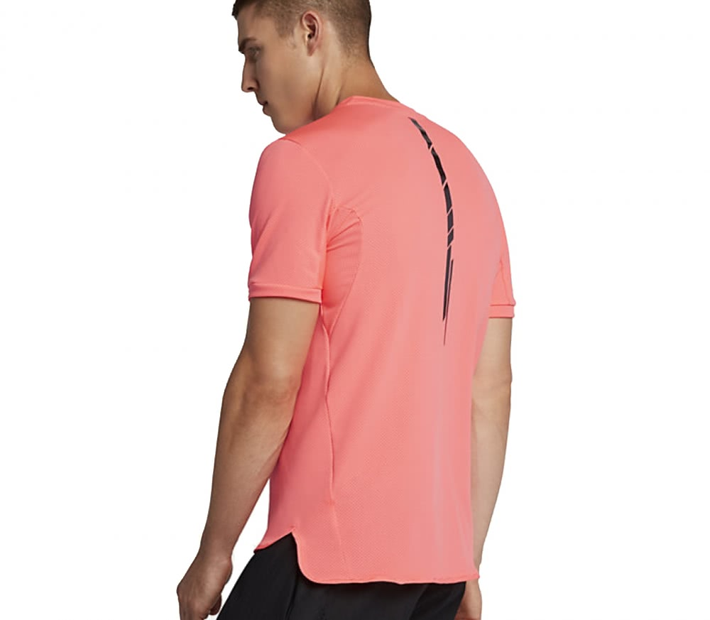 Nike - Rafael Nadal AeroReact Challenger men's tennis top (red)