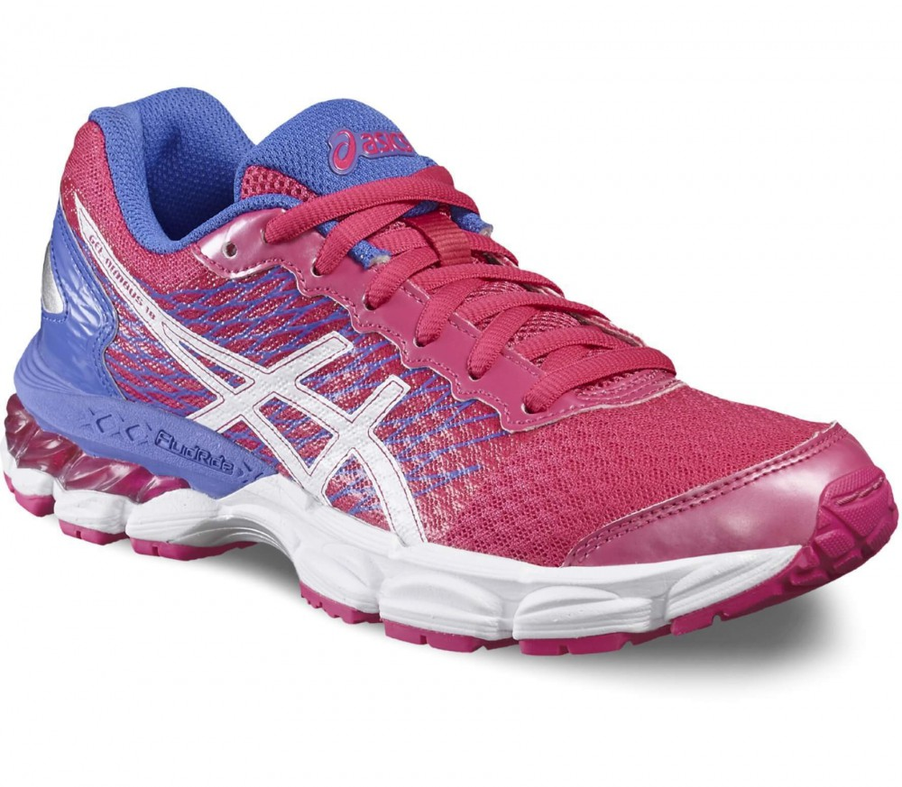 Asics - Gel-Nimbus 18 GS Children running shoes (red/white)
