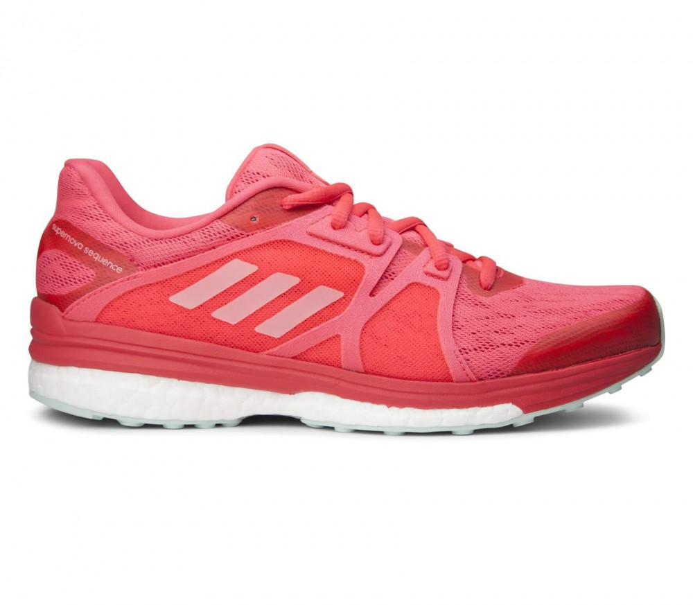 Adidas - Supernova Sequence 9 women's running shoes (red/white)