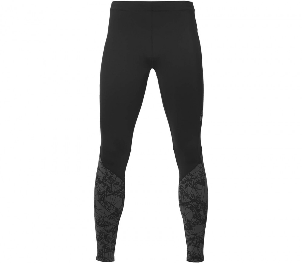 ASICS - fuzeX Graphic men's running pants (black/grey)