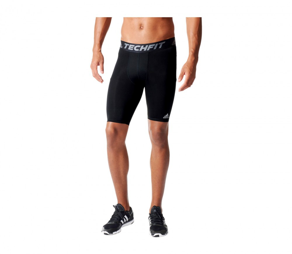 Adidas - Techfit Base Tight men's training shorts (black)