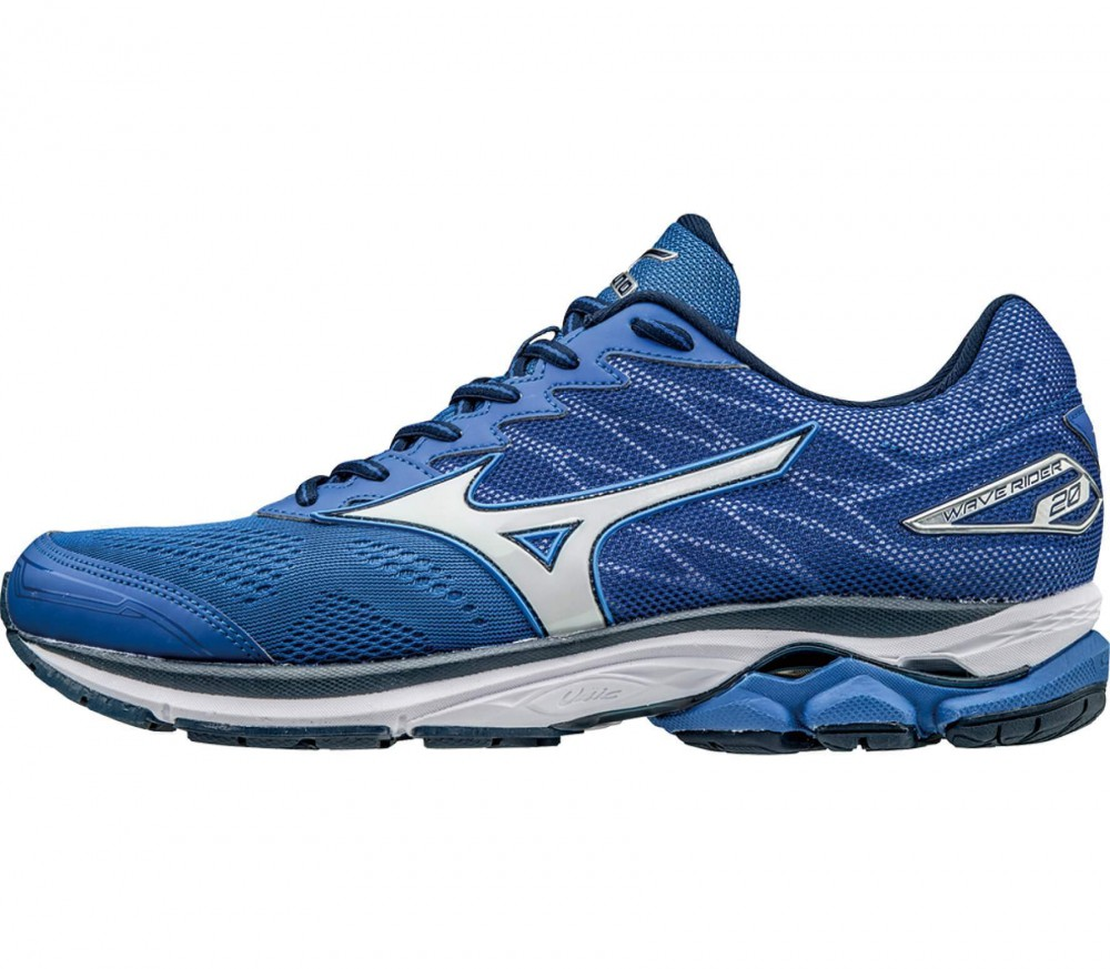 Mizuno - Wave Rider 20 men's running shoes (blue/white)