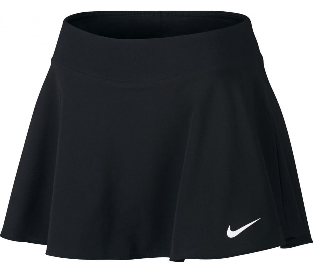 Nike - Court women's tennis skirt (black/white)