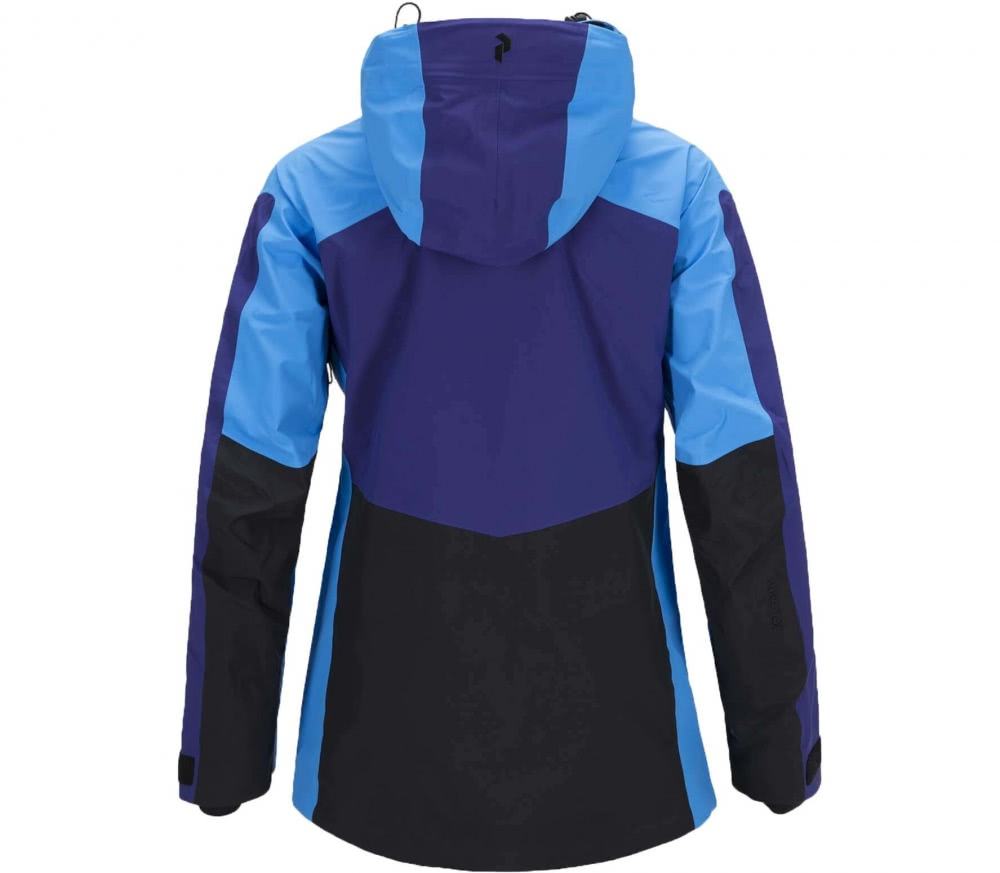 peak performance heli gravity women 39 s ski jacket violet blue buy it at the keller sports. Black Bedroom Furniture Sets. Home Design Ideas