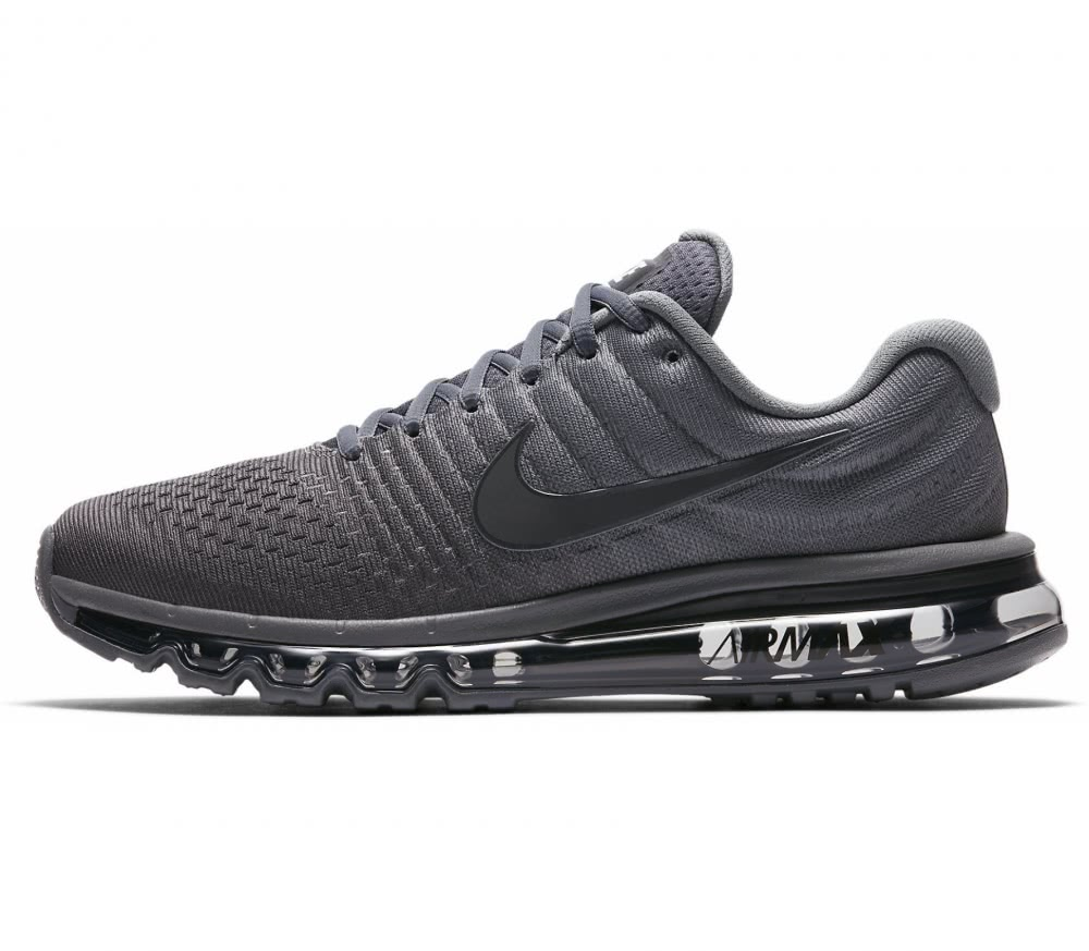 Nike - Air Max 2017 men's running shoes (dark grey)