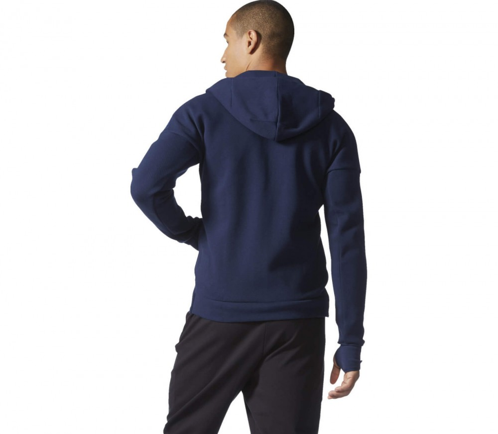 Adidas - Z.N.E. Full-Zip men's training hoodie (dark blue)