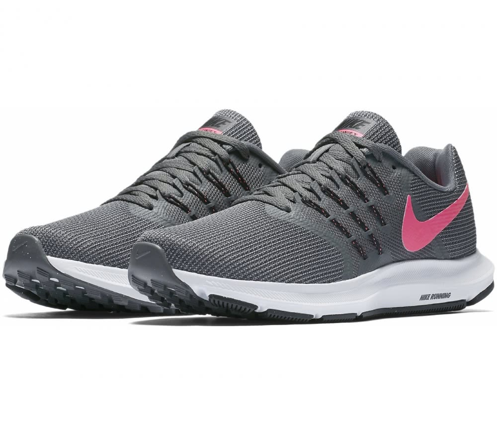 Pink And Grey Running Shoes