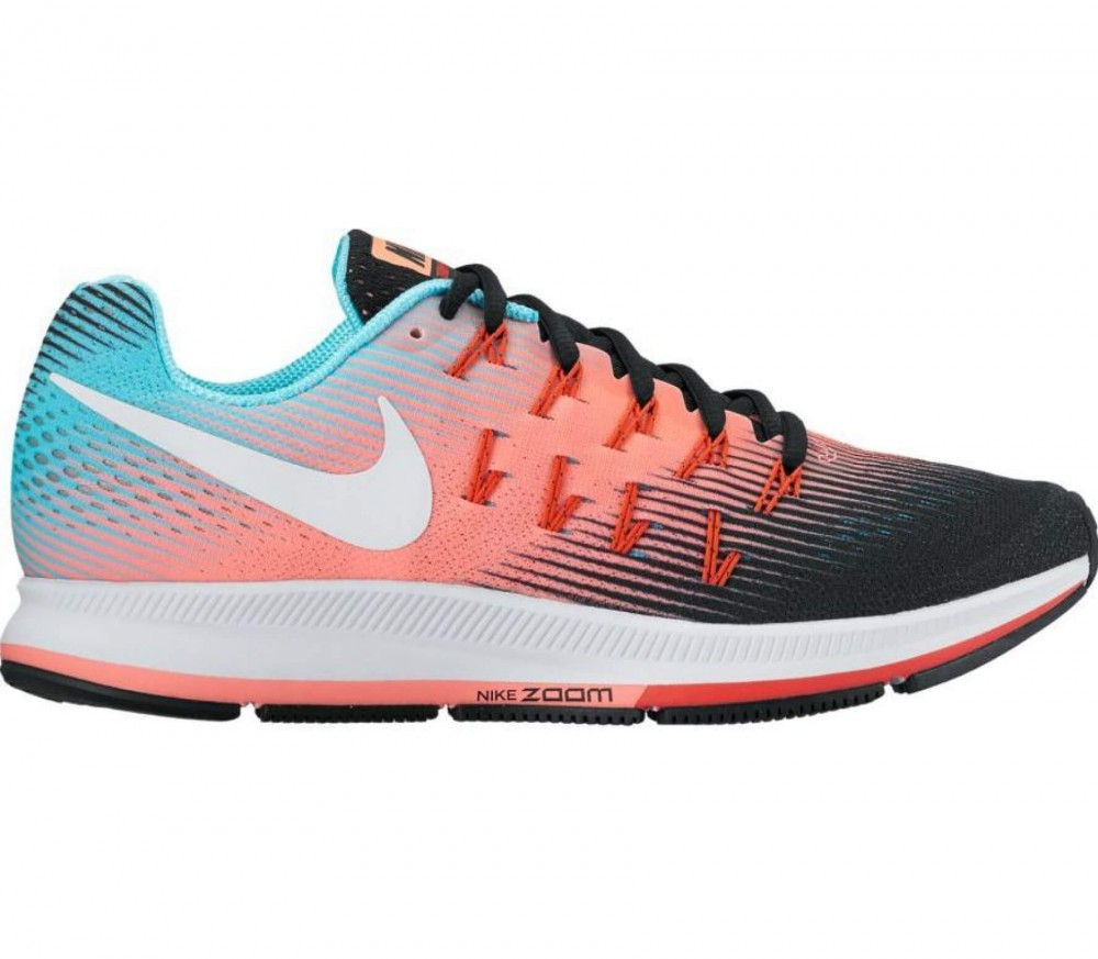 nike air zoom pegasus 33 women 39 s running shoes orange. Black Bedroom Furniture Sets. Home Design Ideas