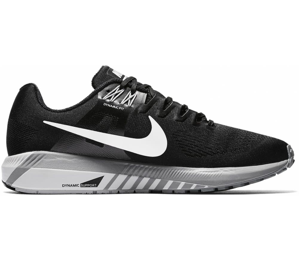 Nike - Air Zoom Structure 21 men's running shoes (black/grey)