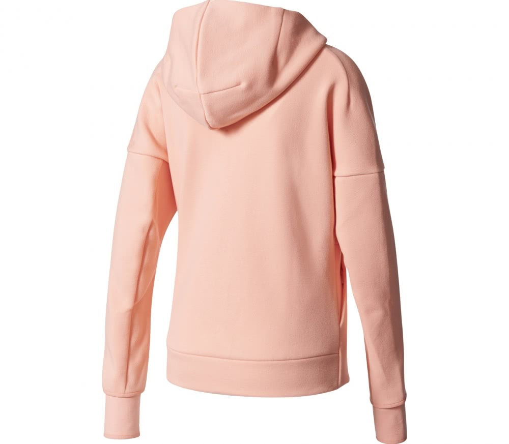 adidas zne women 39 s training hoodie pink buy it at. Black Bedroom Furniture Sets. Home Design Ideas