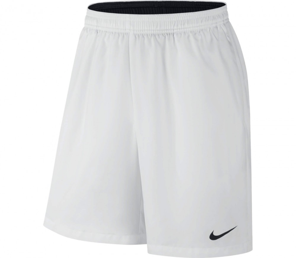 Nike - Court Dry men's tennis shorts (white/black)