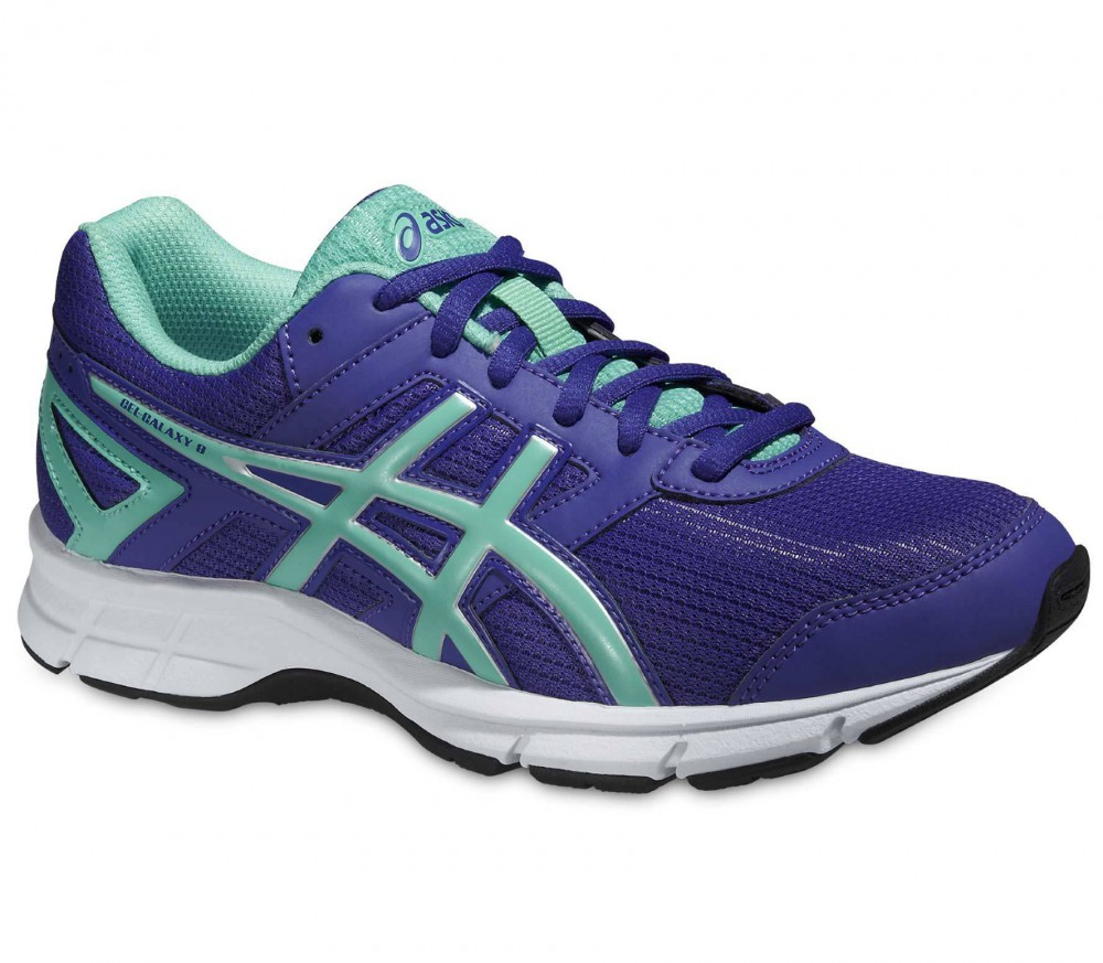 ASICS - Gel Galaxy 8 GS junior running shoes (violet/turquoise)