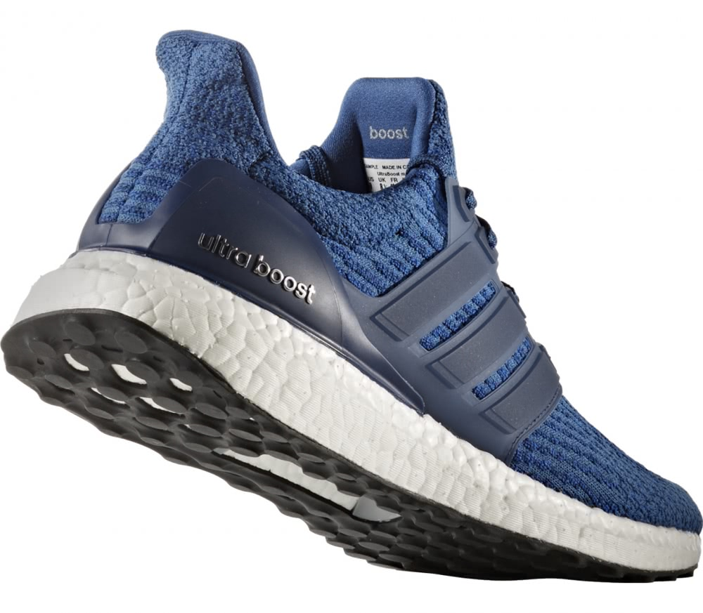Adidas - Ultra Boost men's running shoes (blue/white)