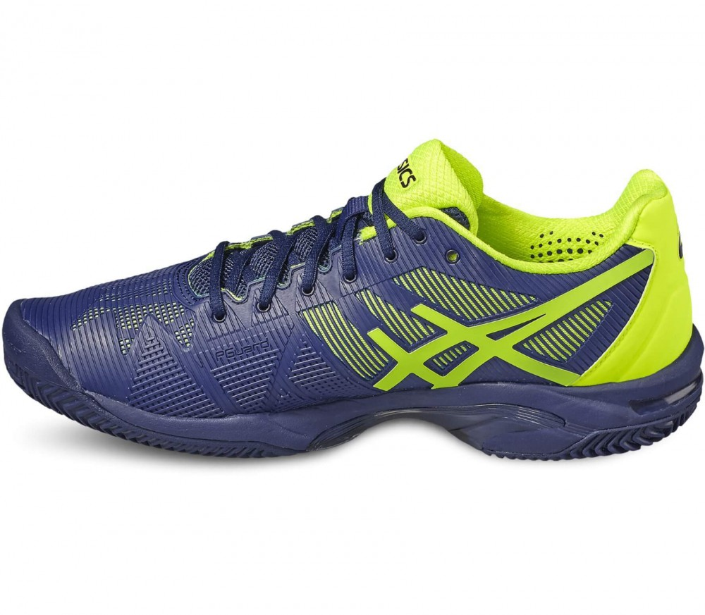 Asics - Gel-Solution Speed 3 Clay men's tennis shoes (blue-yellow)