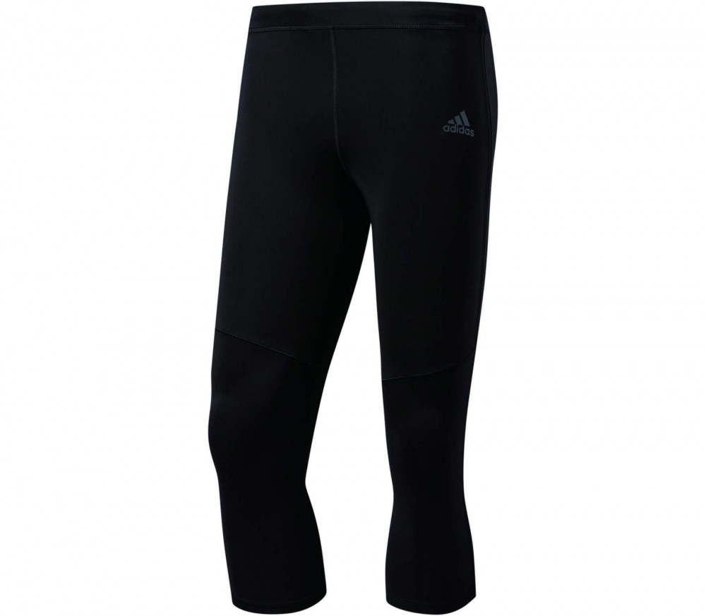 Adidas - Response 3/4 men's running pants (black/grey)