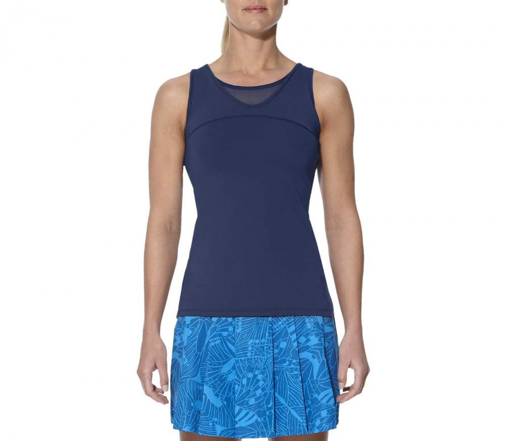 Asics - Athlete women's tennis tank top (dark blue)