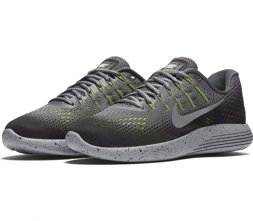 Nike - LunarGlide 8 Shield women's running shoes (grey/silver)