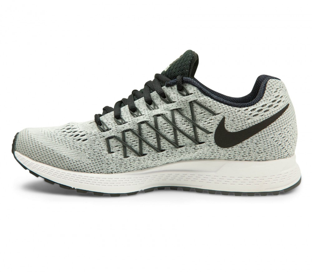 nike air zoom pegasus 32 women 39 s running shoes grey black buy it at the keller sports. Black Bedroom Furniture Sets. Home Design Ideas