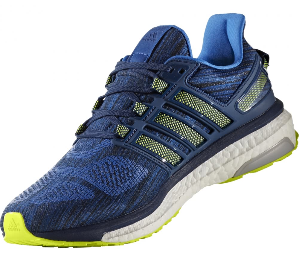 Adidas - Energy Boost 3 men's running shoes (dark blue/yellow)